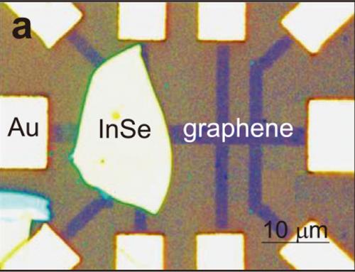 Photoquantum Hall effect of Graphene/InSe heterostructures